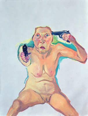 You or Me (2005), Maria Lassnig
