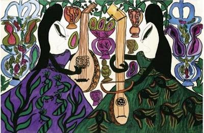 Les Deux Musiciennes (1966), Baya