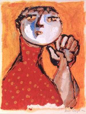 Woman in Dotted Dress, Margit Anna