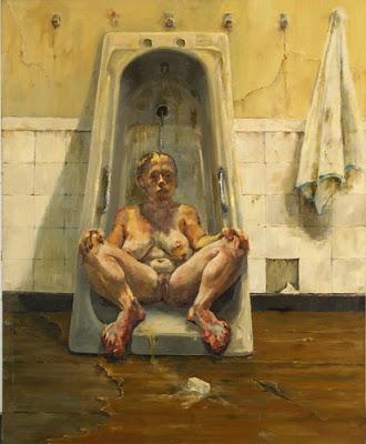 Girl in Tub, Jenny Saville