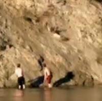 caida río