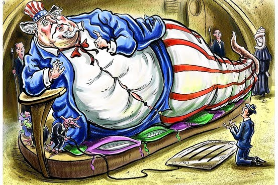 Image result for fat uncle sam