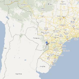 iguazu falls map - photo #3
