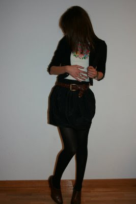 falda tulipan H&M