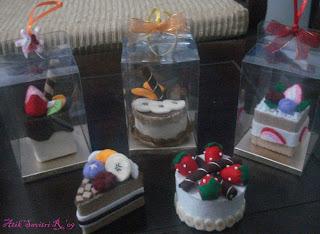 Souvenir Flanel Cakes *bisa dijadiin souvenir nikahan ato ultah*