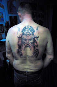 Inspiration Bodypainting Back Body Tattoo Ideas With Viking Tattoo Designs With Image Back Body Viking Tattoo