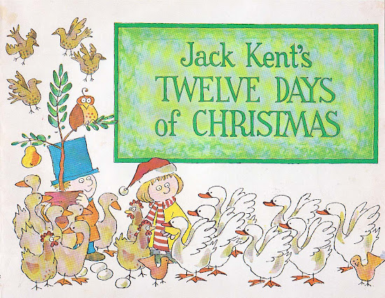 Twelve Days Of Christmas Book.Vintage Kids Books My Kid Loves Jack Kent S Twelve Days Of