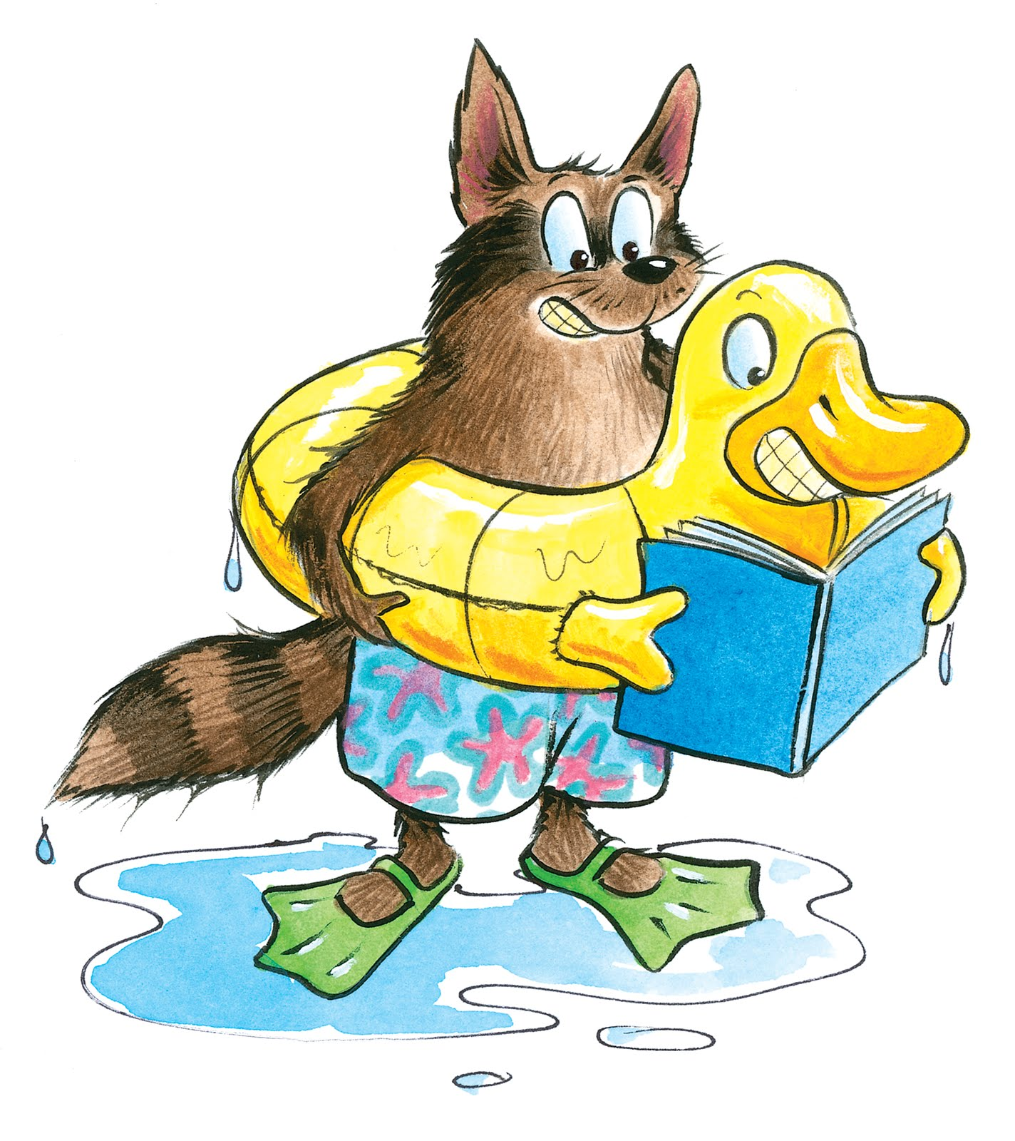 clipart of summer reading - photo #6