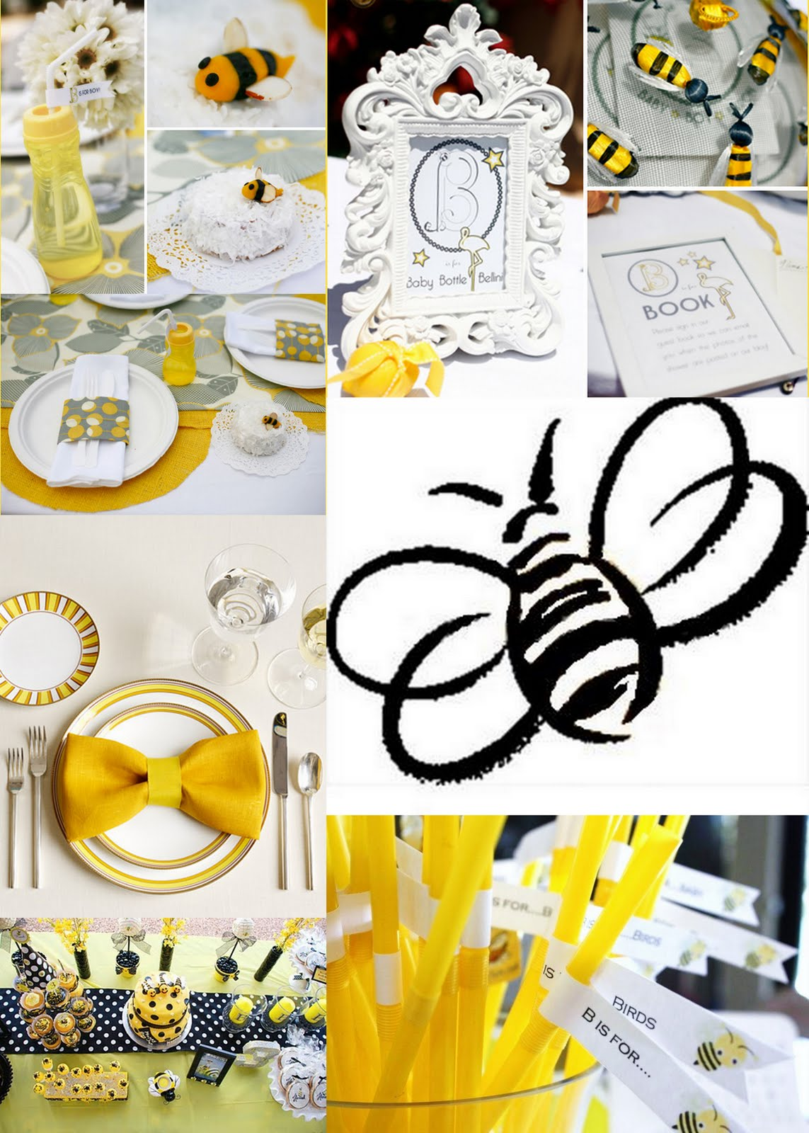 The Lindseys Baby Shower Bumble Bee Theme