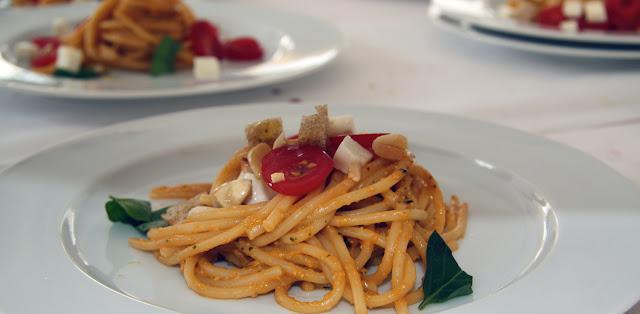 spaghetti all'ossimoro di trapanese
