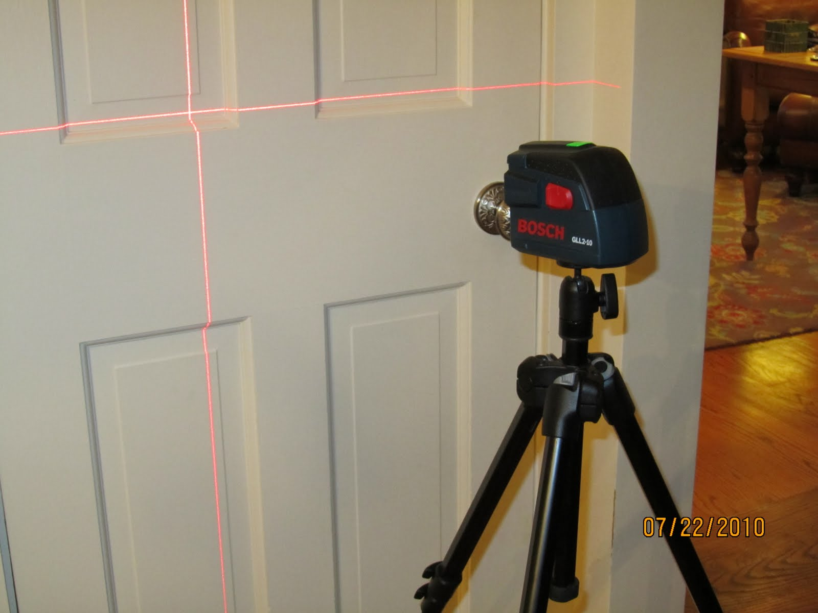 Bosch Cross Line Laser Gll2 10 A Concord Carpenter