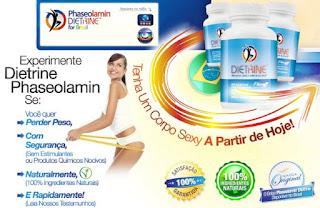 Emagreça com Dietrine Phaseolamin (Faseolamina)