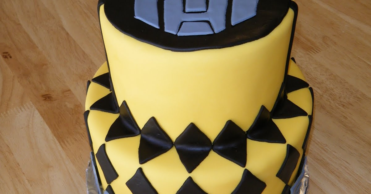 Cassy S Cakes Bumble Bee Transformer
