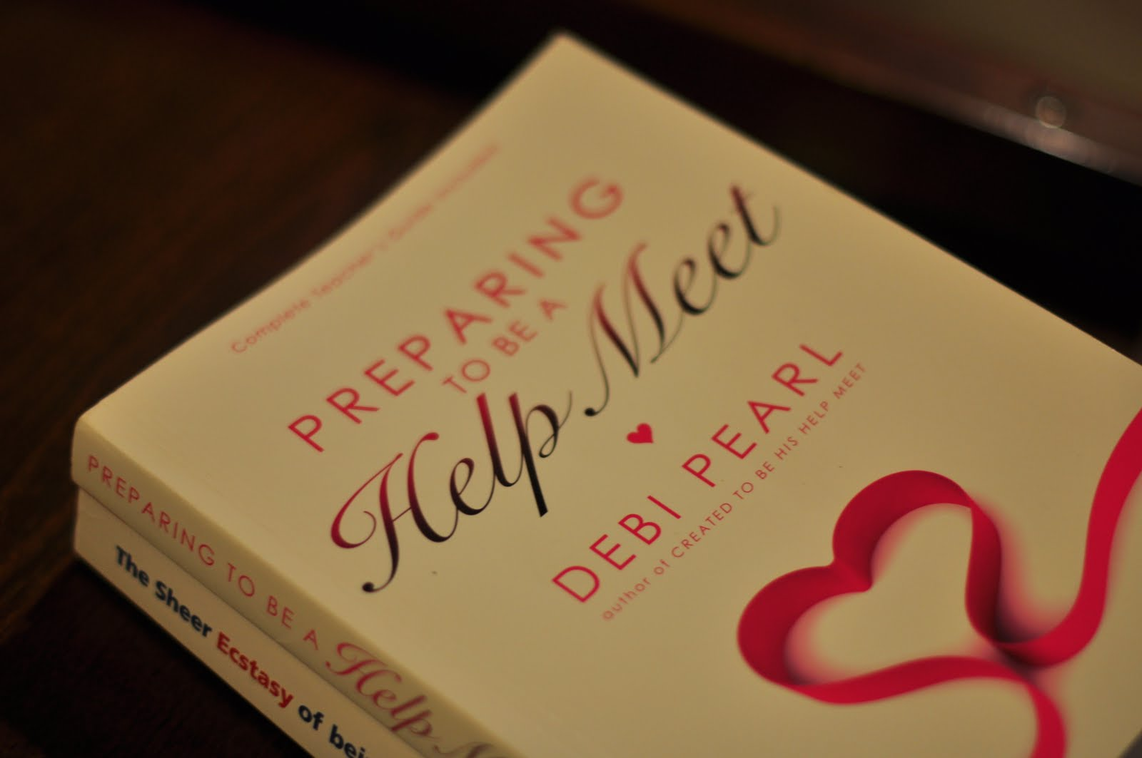 preparing to be a help meet book