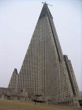 Douglascain Amazing Buildings Ryugyong Hotel Pyongyang