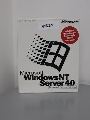 The NT 4.0 server box.. 5CALs!