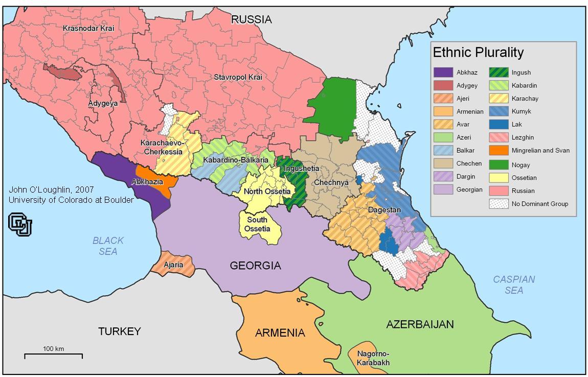 Map Of Georgia 1700.Historical Maps Of The Caucasus