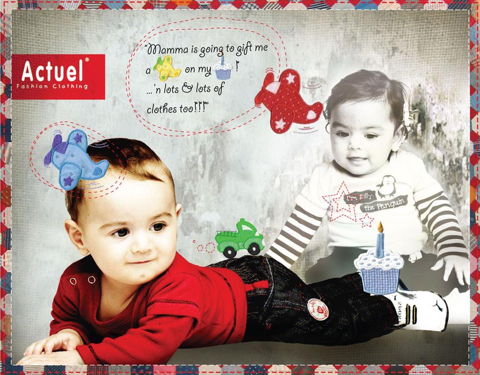 HybridInksStudio: Print Ads For Actuel Kids Wear