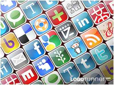 24 Free Social Bookmarking Icons