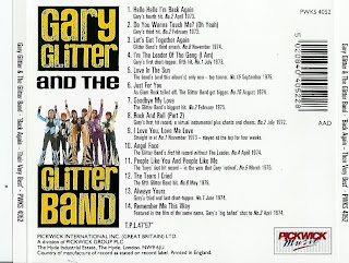 Download mp3 full flac album vinyl rip Rock And Roll (Part 2) - Gary Glitter And The Glitter Band - Back Again - Their Very Best (CD)