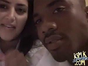 kim kardashian naked ray j