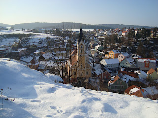 Hohenfels, Bavaria During Winter Time
