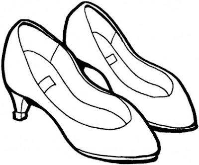 Colorear Es Divertido Zapatos Para Colorear Dibujos De