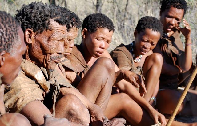 San people marczawel com 1 San Bushmen People, The World Most Ancient Race People In Africa
