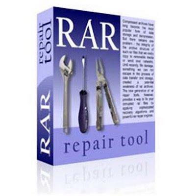 نتيجة بحث الصور عن Rar Repair Tool 4.0 cover