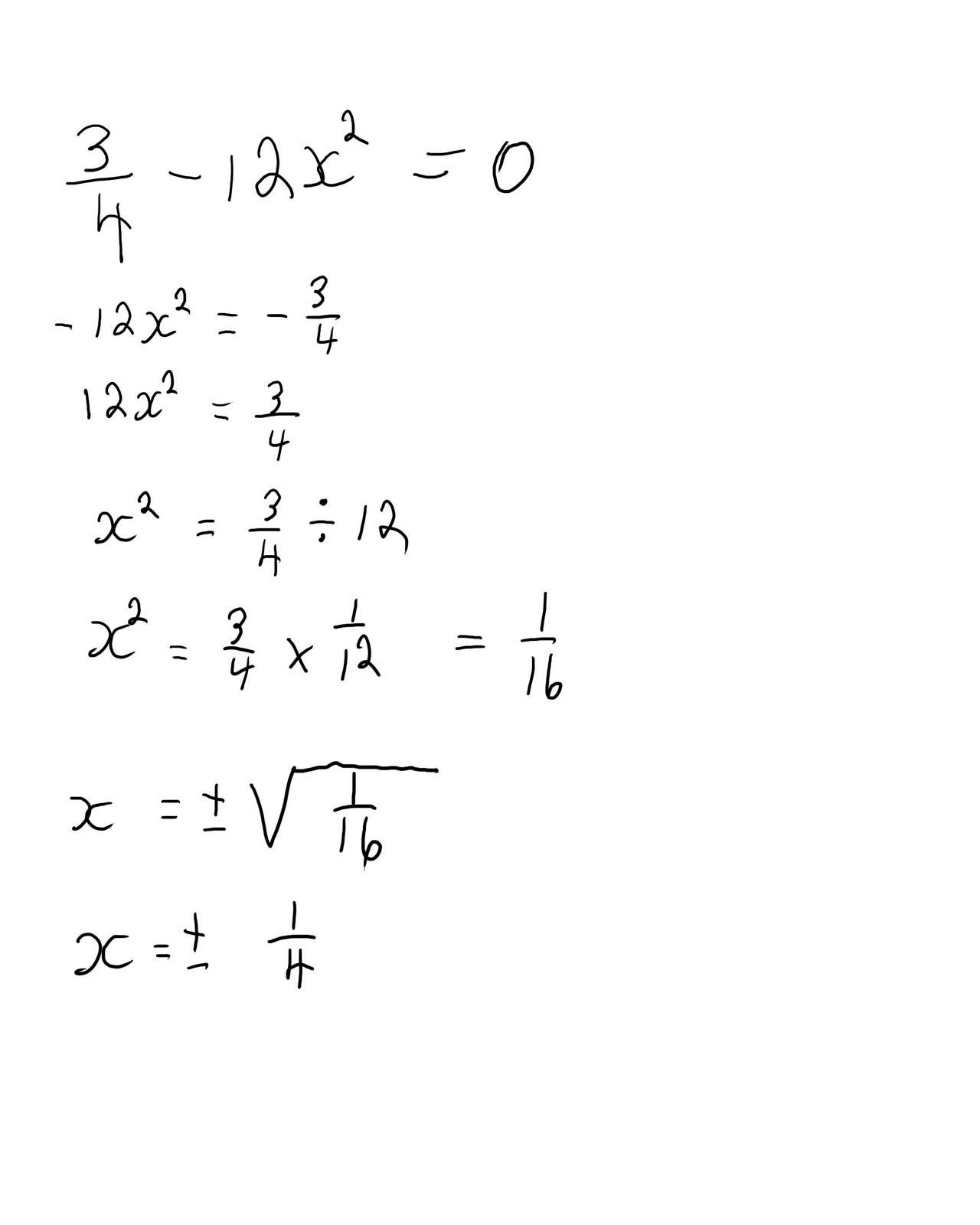 Algebra 2 Quadratic Equation
