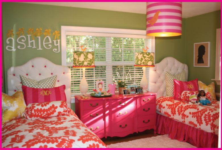 Pagoda Press: Bright and Fun Girl's Room