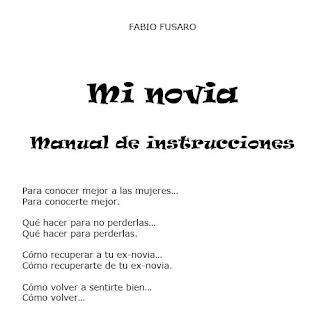 Mi novia – Manual de Instrucciones
