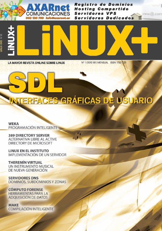 Linux+ Nro. 61 – Enero 2010