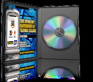 Reparación y Mantenimiento de Teléfonos Celulares [6 CDs]