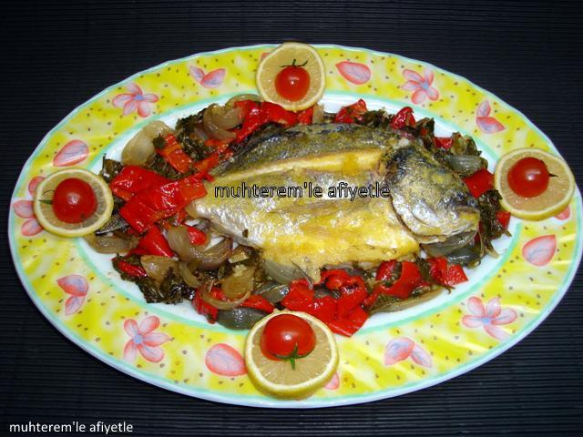 Fırın Poşetinde Sebzeli Balık