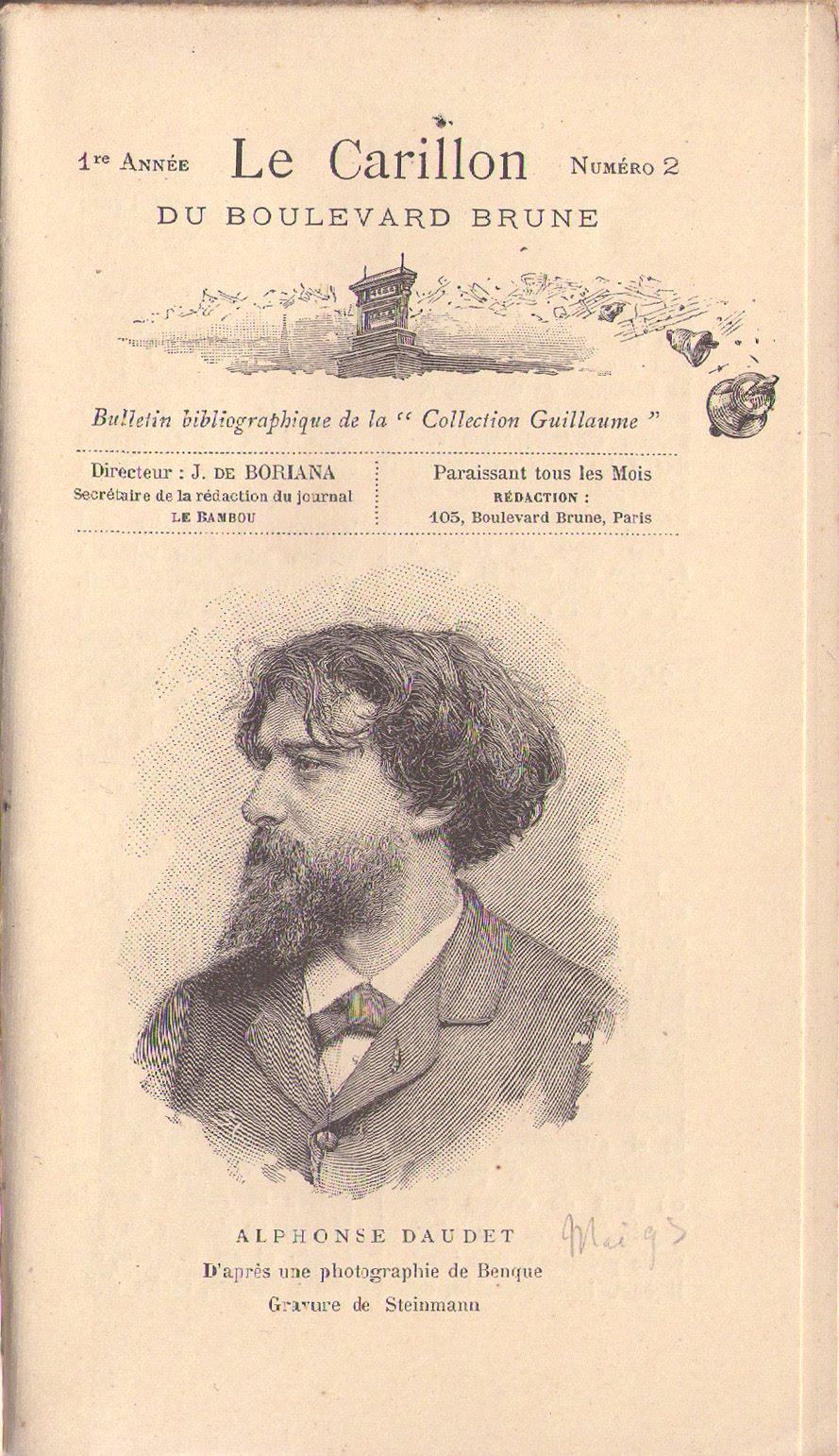 CORRESPONDANCE - Alphonse Daudet,Edmond de Goncourt