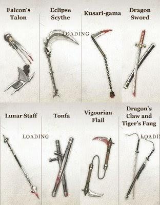 Ninja Gaiden 3 Wishlist Weapons