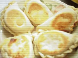 Empanadas light de queso azul y puerros