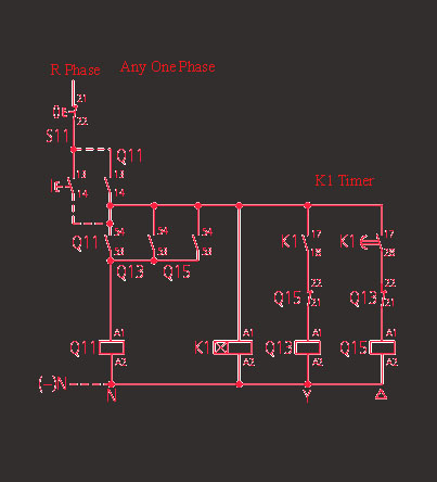 Three Phase Motor Star Delta Wiring Diagram Apache 50cc Quad Starter 3 Electrical And Electronics Its A Waring