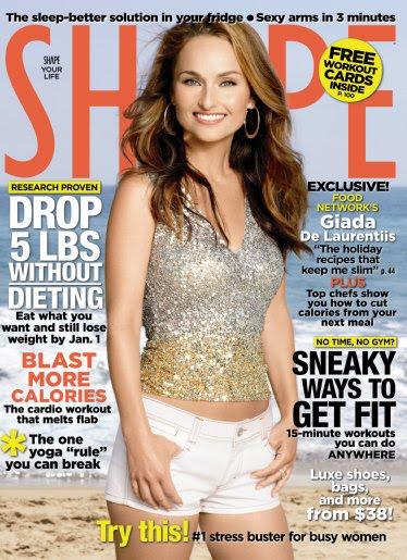 Celebrity Moms: Giada De Laurentiis on the Cover of Shape