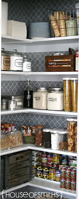 We Speak DIY Beautiful Pantry Inspiration