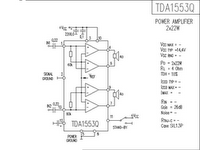 electronic component datasheets: tda audio amplifier