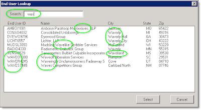 Custom VBA Lookups - Microsoft Dynamics GP Community