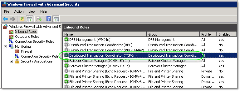 Configuring DTC on Windows Server 2008 for eConnect 9 or 10