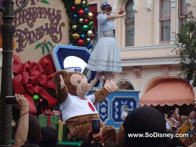 Disney Parks Christmas Day Parade Taping 2010- Duffy the Disney Bear