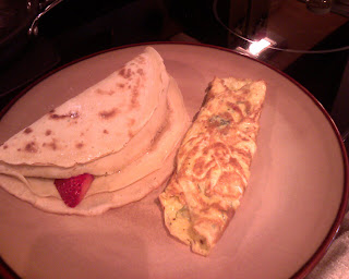 Crepes and omelets