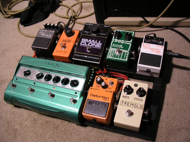 Overdosed With Love Stomp Box Against Multi Effects