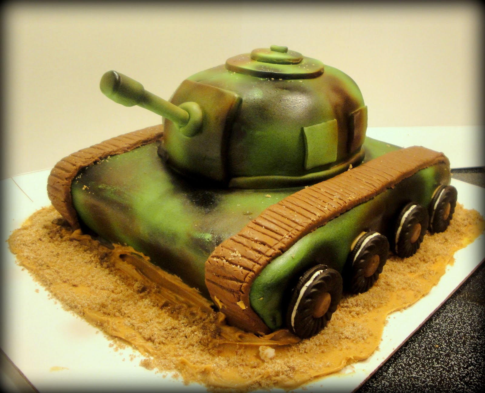 Military Cake Ideas For Kids