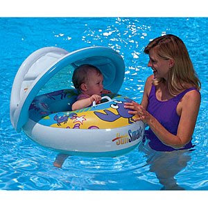 Www Bebekidsworld Com Sunshade Baby Pool Float Sunsmart