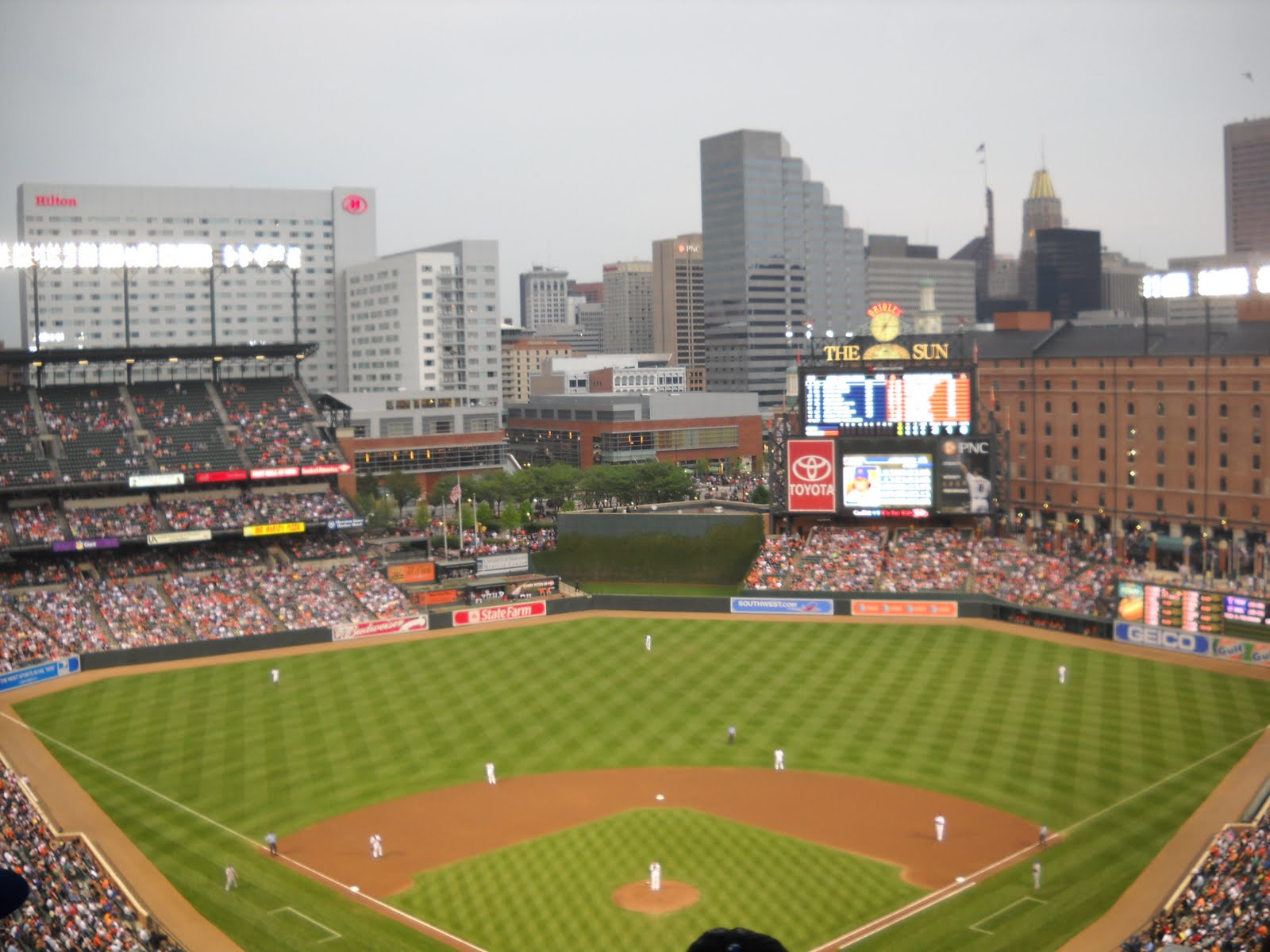 Ballpark #6: Orioles Park at Camden Yards | Planes, Trains and Running Shoes